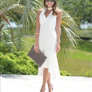 White Midi Dress - Valentina